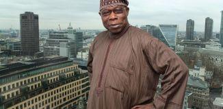Former Nigerian President Olusegun Obasanjo