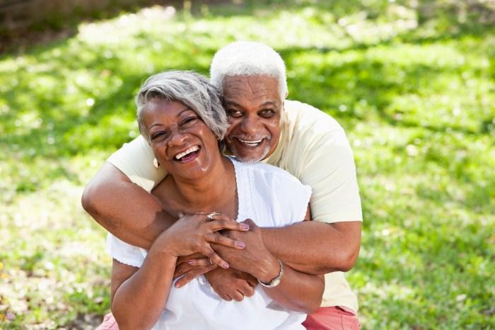 couple elderly travel