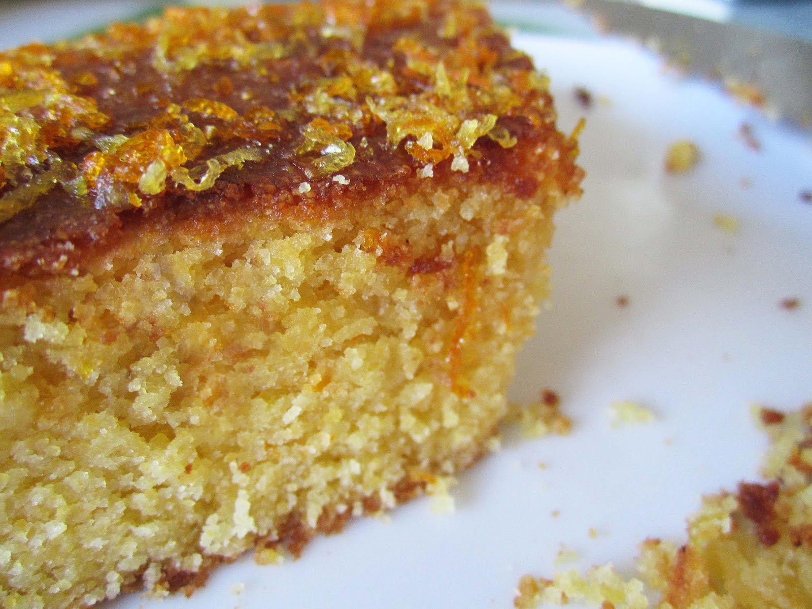 Lemon Polenta Cake With Yogurt
