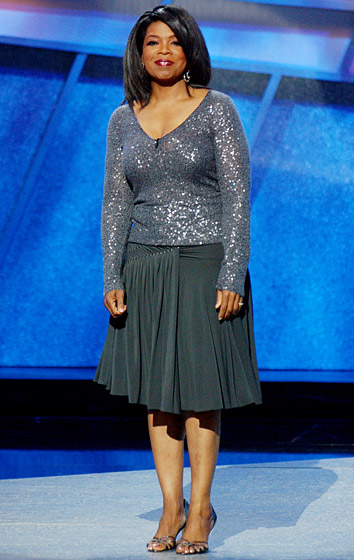 July 2005: The host took the stage to present an award at the 2005 ESPYs in Hollywood. (Photo Credit: M. Caulfield/WireImage.com)