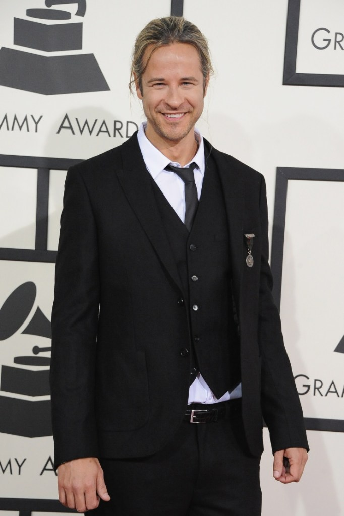 Best Dance Recording nominee Trevor Guthrie arrives at the 56th Annual GRAMMY Awards on Jan. 26 in Los Angeles (Photo Credit: Steve Granitz/WireImage.com)