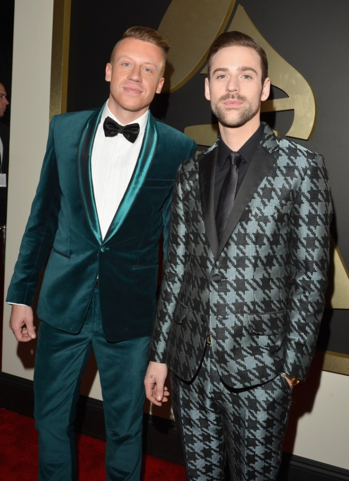 Best Dance/Electronica Album nominees Howard Lawrence and Guy Lawrence of Disclosure at the 56th Annual GRAMMY Awards on Jan. 26 in Los Angeles (Photo Credit: Steve Granitz/WireImage.com)