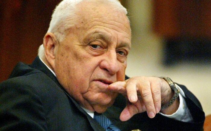 Ariel Sharon The Trent 15