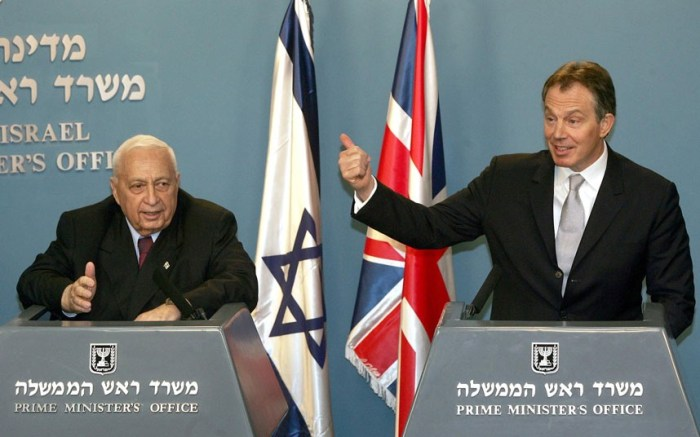 Israeli Prime Minister Ariel Sharon in 2004 (Picture: AP Photo/Oded Balilty)