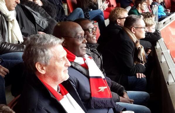 Atiku Abubakar At Emirates Stadium