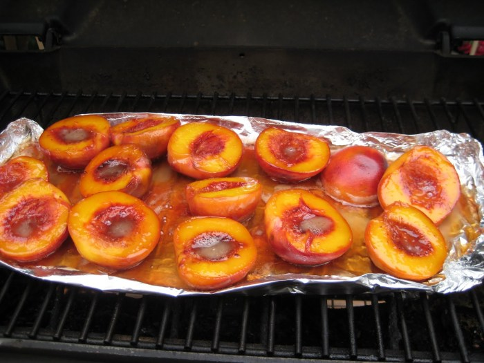 BournbonGlazed Peaches The Trent