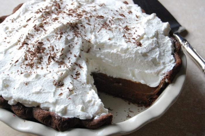 Double-Chocolate Cream Pie The Trent