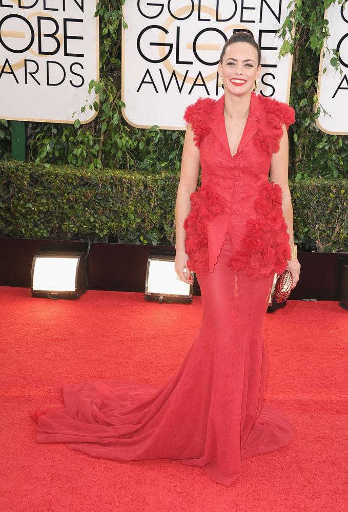 Berenice Bejo in Giambattista Valli, Dior Fine Jewelry