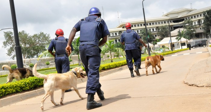 Boko Haram Boko Haram, Nigerian Security and Civil Defence Corps, NSCDC personnel