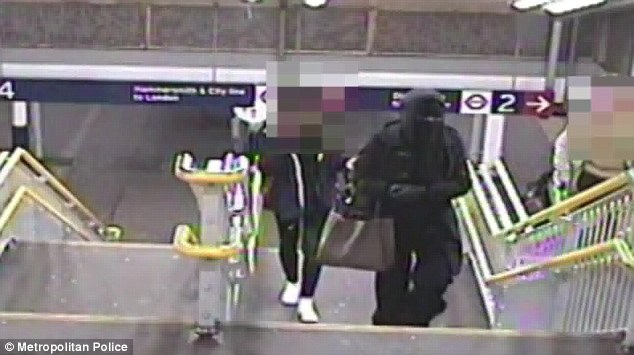 Police investigating the attack have said: 'The victim's life has been changed forever - she will always bear the scars of what happened - but she has been incredibly brave' (Photo Credit: Daily Mail UK)