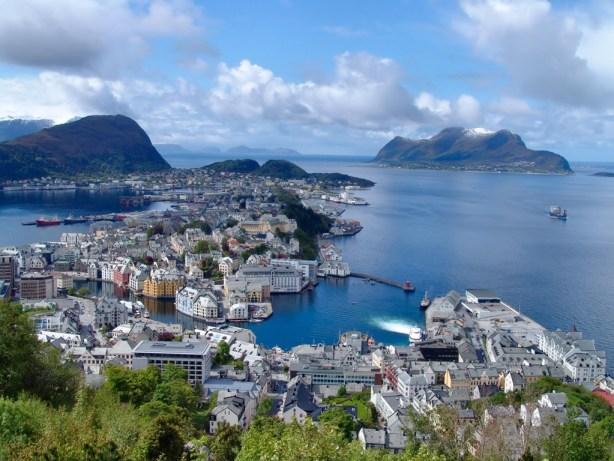Norway The Trent Alesund