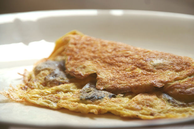 Oyster Mushroom Omelette The Trent
