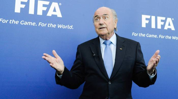 World Cup FIFA Sepp Blatter