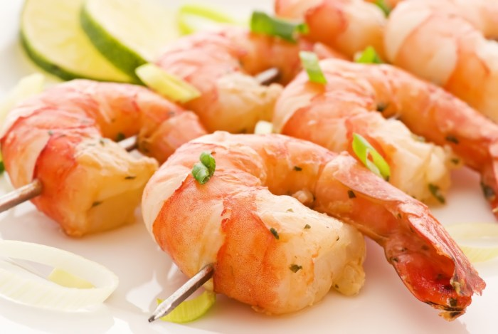 Shrimp-Skewer The Trent
