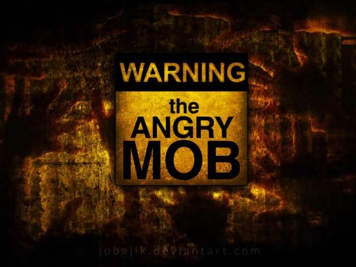 abuja angry mob