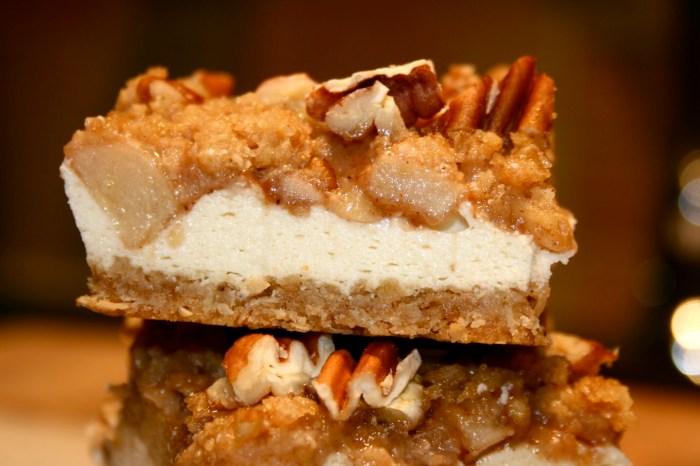 Caramel Apple Cheese Cake