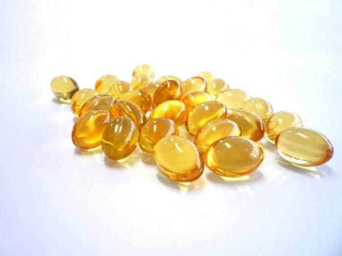 Cod liver oil caplets