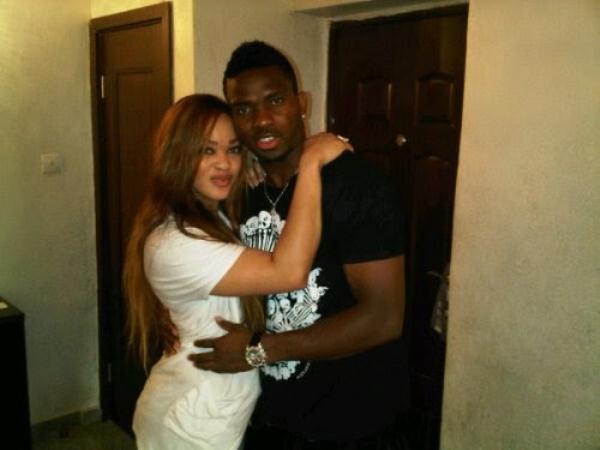 Joseph Yobo and wife Adaeze Yobo