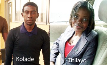 Akolade Arowolo sentenced to death for killing his wife Titilayo | Photo: Punch