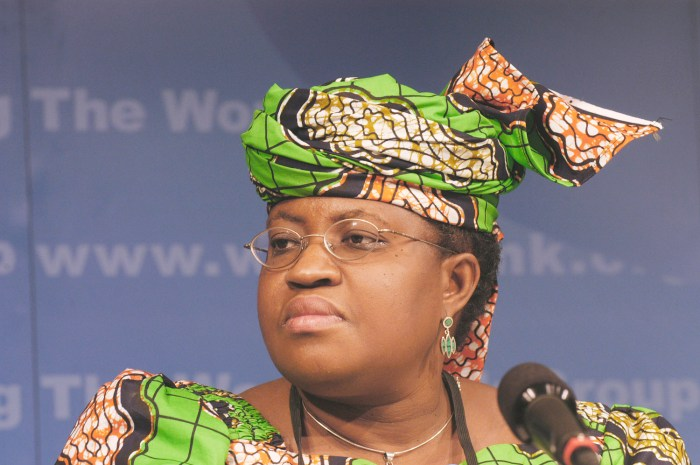 Finance Minister, Dr. Ngozi Okonjo-Iweala