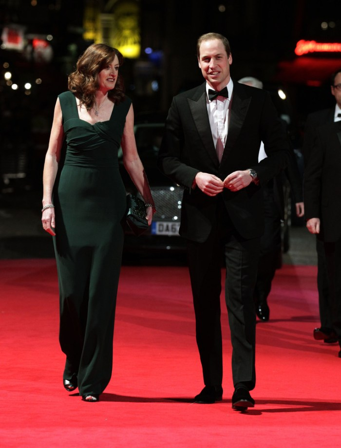 Amanda Berry OBE and Prince William