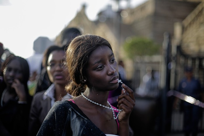 1st Prize People – Observed Portraits SingleMarkus Schreiber, Germany, The Associated Press13 December 2013, Pretoria, South AfricaA woman reacts in disappointment after access to see former South Africa President Nelson Mandela was closed on the third and final day of his casket lying in state, outside Union Buildings in Pretoria, South Africa.Picture: MARKUS SCHREIBER/AP