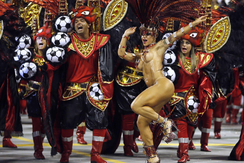 Samba Carnival Nudecarnival Nude-6623