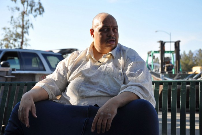 Wesley Warren - The man with 10 stone testicles (Photo Credit: Channel 4)
