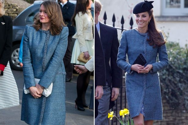 Snap! The unnamed wedding guest and the Duchess of Cambridge share their style