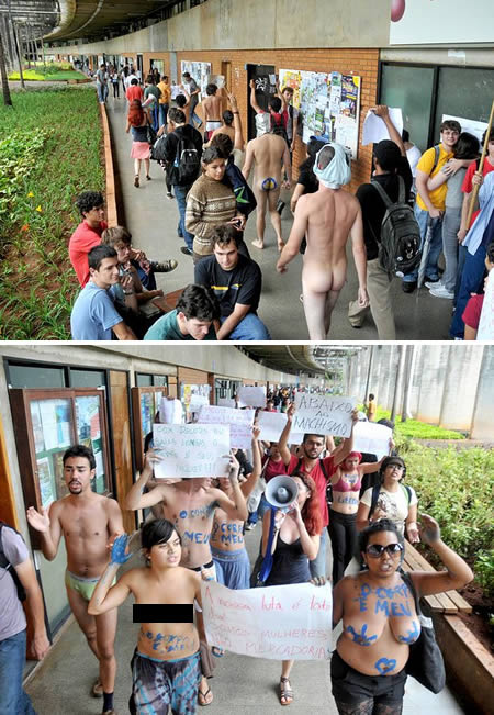Naked Protest The Trent 2