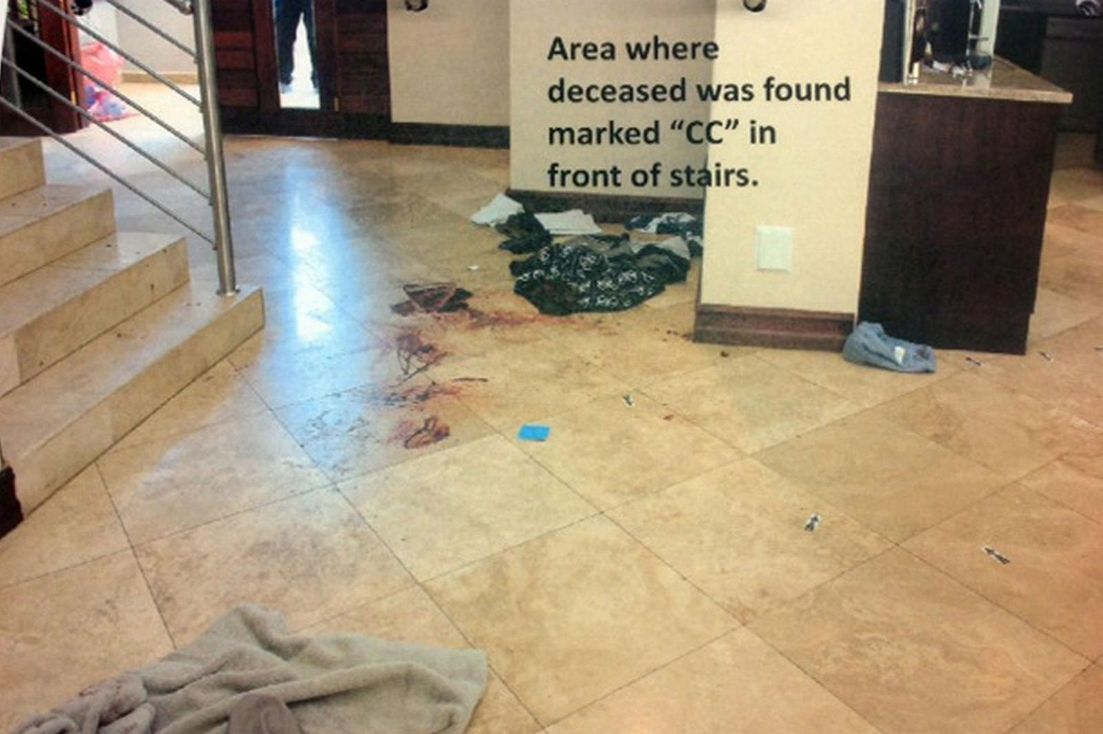 Shocking Photos Emerge Of Oscar Pistorius Crime Scene