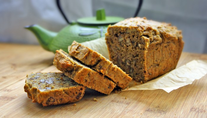 Avocado Pecan Sprouted Grain Quinoa Bread