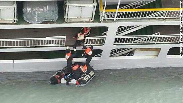 Authorities could not immediately say what caused the ship to sink. The weather at the time of the incident in the area was clear. (Photo: CNN)