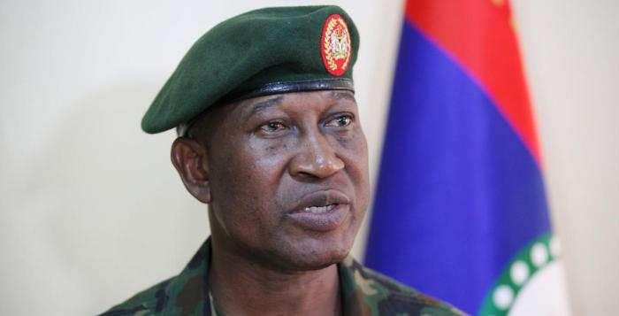 The spokesman of the Nigeria Defence Headquarters, Maj. Gen. Chris Olukolade, on Tuesday, June 30, 2015 launched two books at the Nigeria Air Force Conference Centre. Boko HAram Nigerian Army