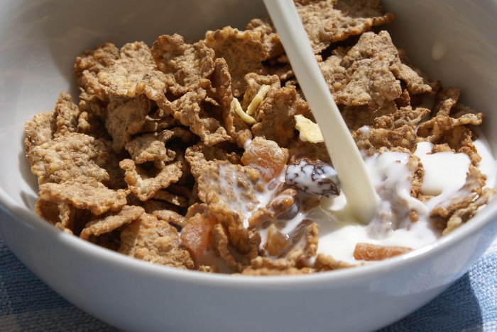 fruit and fibre cereal