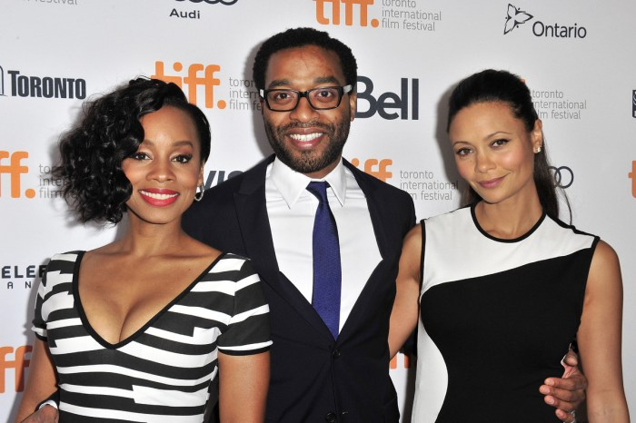 The stars of Half of A Yellow Sun at the premier of the film in Canada 2013