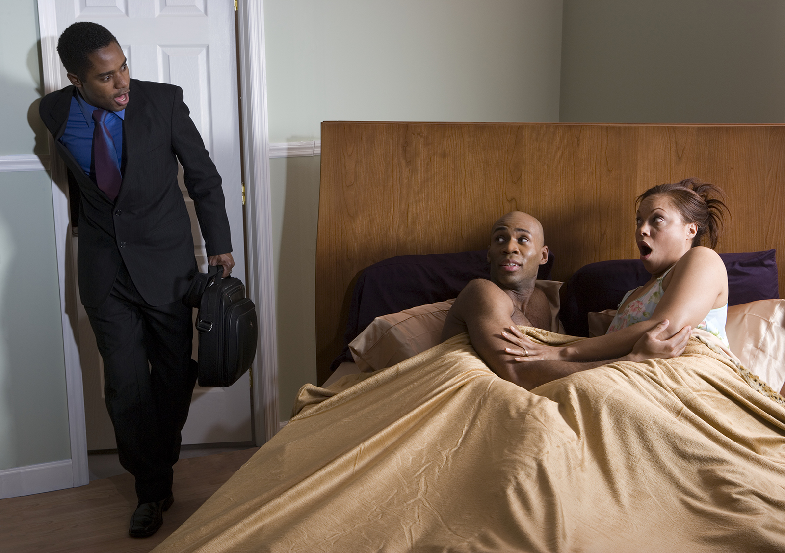 SAD: Man Catches Newlywed Wife Cheating On Him One Week