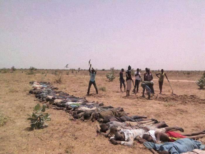 Genocide in Borno (Photo credit: Dr. Ahmad Abubakar Mahmud Gumi)
