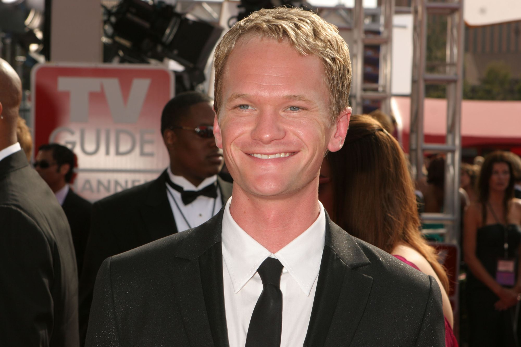 Neil Patrick Harris naked on the cover of Rolling Stone
