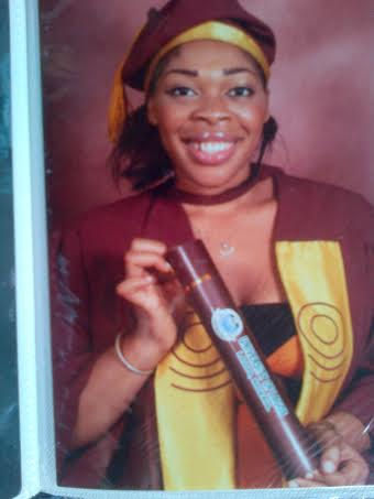 Kelechi on her graduation
