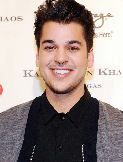 Rob Kardashian arrives at the grand opening of Kardashian Khaos at The Mirage Hotel and Casino on December 15, 2011 in Las Vegas, Nevada.  (Photo Credit: Denise Truscello/WireImage)
