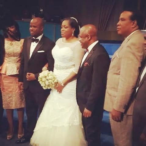 Sinach's Wedding (Photo: Linda Ikeji)