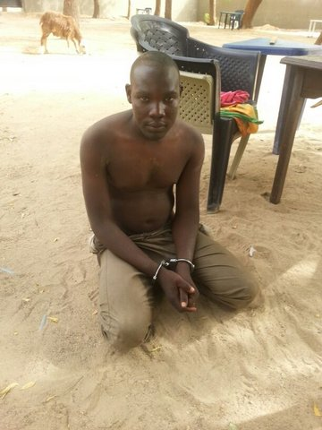 Boko Haram member, key player in Chibok school abduction arrested (Photo Credit: Defence Headquarters)
