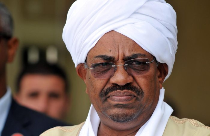 FILE PHOTO: Sudanese President Omar al-Bashir delivers a speech inside Parliament in Khartoum, Sudan April 1, 2019. REUTERS/Mohamed Nureldin Abdallah/