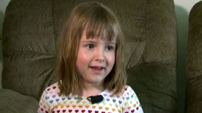 4-year-old super hero Abby Dean (Photo Credit: Fox News)