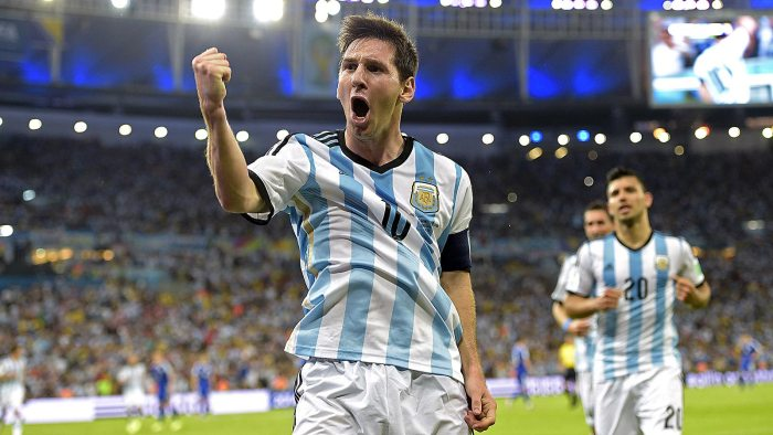Argentina's star Messi at the World Cup in Brazil (Photo Credit:  Victor R. Caivano/AP)