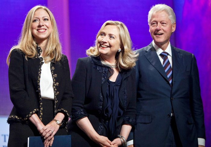 The Clintons (Photo Credit: Credit: Ramin Talaie/Bloomberg via Getty)