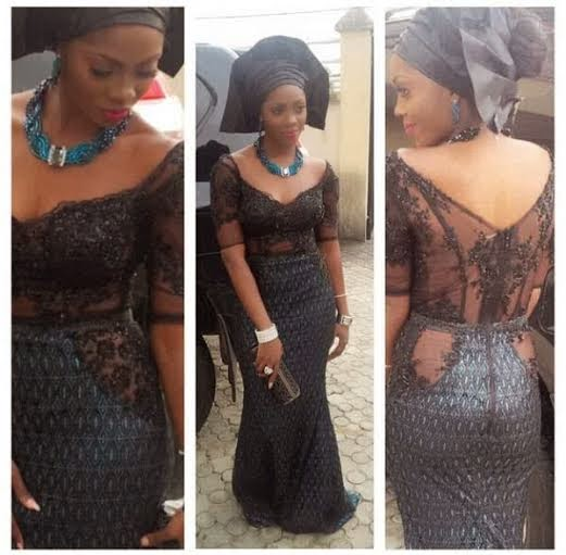 Tiwa Savage at Dr Sid and Simi Osomo's  traditional marriage at the The Ark Event Center, Lekki, Lagos on Sunday, July 27, 2014 (Photo credits: Linda Ikeji)