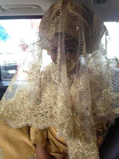 Simi Osomo on her traditional marriage at the The Ark Event Center, Lekki, Lagos on Sunday, July 27, 2014 (Photo credits: Linda Ikeji)