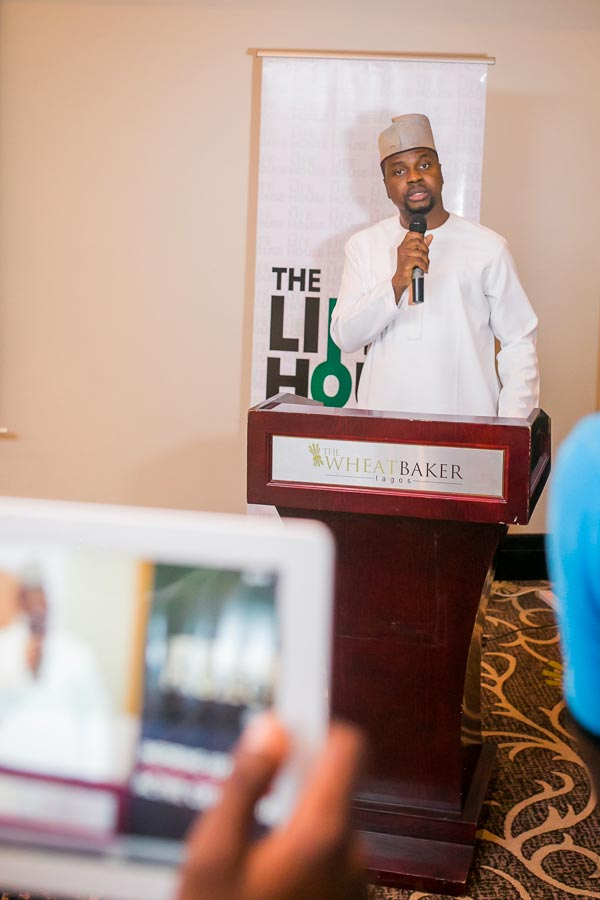 Adebola Williams, co-founder of The Future Africa Awards And Summit at the event  (Photo provided by Red Media)